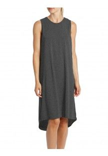 The Classic Sleep Nightdress - Charcoal
