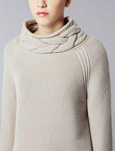 Max Mara - Maglia in lana e cachemire detail