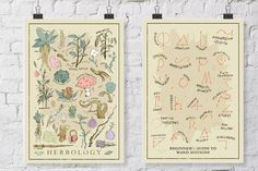 Harry Potter Herbology en Wand van WellSaidCreations op Etsy