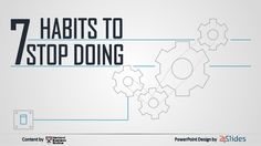 What habits keep you from being productive? #productivity #presentation