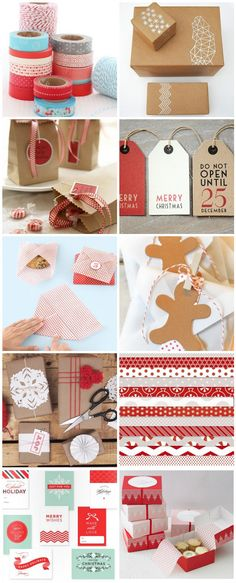 Inspiration: Sweet Christmas Packaging