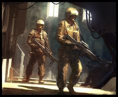 Soldiers speed by *AndreeWallin on deviantART
