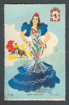 Spanish postcard | eBay