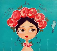 Frida Kahlo Artwork, Frida Art, Frida Kahlo Party Decoration, Frida Kahlo Cartoon, Arte Pallet, Deco Paint, Zen Art, Poster Prints, Lino Prints