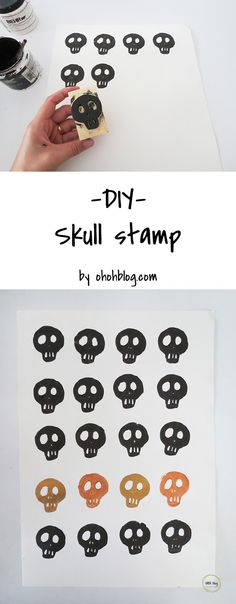 How To Make A Skull Stamp