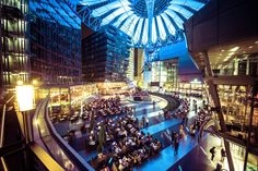 The Sony Centre in Berlin by Mike Corey on 500px