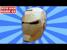 Cara Membuat Topeng Iron Man Dari Kardus Bekas Spesial 3000
