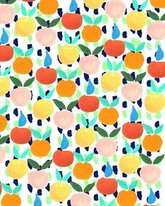 bouffantsandbrokenhearts:  Colorful Citrus.