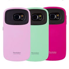 Korea Style beautiful phone case High quality Solid Candy Color TPU+PC Hard Case Silicone back cover For samsung GALAXY S6 Case