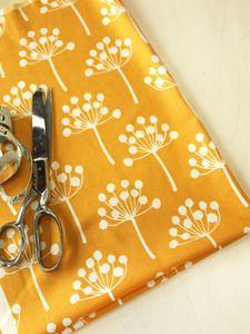 lotta jansdotter fabric / yellow