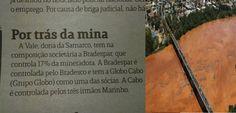 Jornal faz cair a máscara da Globo que tentou abafar e diminuir a tragédia de Minas Gerais
