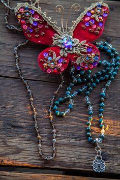 São Paulo travel necklace, turquoise pyrite beads with crystal rock quartz accents Jewelry, Fashion, Jewellery Making, Moda, Jewerly, Jewelery, Fashion Styles, Jewels, Jewlery