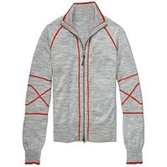 For running: Stretch Panel Sweater