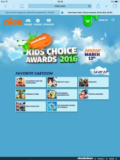GUYS! NINJAGO WAS NOMINATED FOR A KIDS CHOICE AWARD! VOTE NOW AND SPREAD LIKE WILDFIRE! http://www.nick.com/kids-choice-awards/vote/ #Ninjago