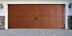 Is it real or faux wood? It's faux! Looks and feel just like real wooden door.