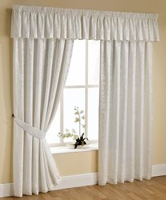 Orlando Lined Voile Curtains Cream 66 x 72 at the fantastic price of sold by Ideal Textiles. Orlando Lined Voile Curtains Cream 66 x 72 can be found in our Pencil Pleat Curtains category along with other products. Cream Curtains, Wide Curtains, Pleated Curtains, Hanging Curtains, Valance Curtains, Curtain Pelmet, Ribbon Curtain, Ok Design, Floral Design