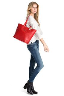 shopper with a front flap