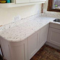 Bianco Foresta- Watford, Hertfordshire - Rock and Co Granite Ltd Watford, Splashback, Granite, Kitchen Ideas, New Homes, House, Collection, Home Decor, Decoration Home