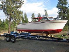 Photo of Chris Craft Roamer Sportsman Chris Craft Boats, Runabout Boat, Wood Boats, Power Boats, Boats For Sale, View Photos, Home And Garden, Crafts, Wooden Boats