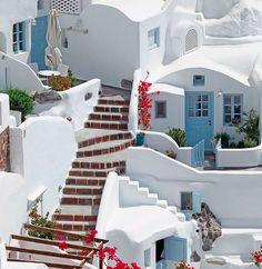 Oia Santorini Greece Photography by Santorini Island Greece, Santorini House, Oia Greece, Athens Greece, Greece House, Greece Architecture, Casas The Sims 4, Greece Travel, Greece Itinerary