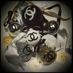 Chanel DIY Ornaments