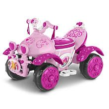 KidTrax Disney Princes 6 Volt Quad Powered Ride On