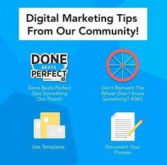 Digital marketing tips from our Community . Digital Marketing Strategy, Digital Marketing Services, Facebook Marketing, Online Marketing, Marketing Quotes, Business Branding, App Development, Ecommerce, Advertising
