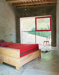Simply Red: A Vacation House in Uruguay by Julie Carlson