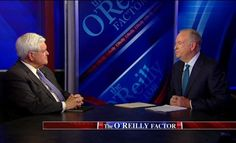 Newt Gingrich gives his take on the media's role in this election on 'The O'Reilly Factor'