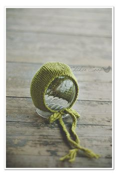 Simple Knit Bonnet Newborn by TheChikenCoop on Etsy, $28.00
