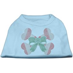 Mirage Pet Products 10-Inch Candy Cane Crossbones Rhinestone Print Shirt for Pets, Small, Baby Blue -- To view further for this item, visit the image link. #Kitty