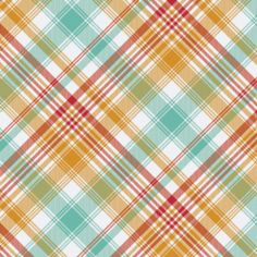 Joel Dewberry  Collection: Notting Hill -   Print Name: Tartan in Poppy