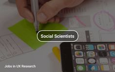 Jobs in #UXResearch 🕵️ https://tapwage.com/channel/social-scientists
