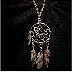 "Dream catcher Necklace Pretty silver toned zinc alloy necklace. Chain is about 24"". New in package. Jewelry Necklaces"