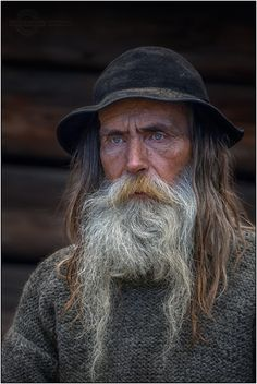 The old highlander by Robert Szcząchor Beard No Mustache, Moustache, Beauty Photography, Portrait Photography, Foto Portrait, Old Faces, Model Foto, Face Expressions, Interesting Faces