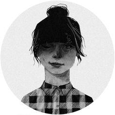 Selfportrait by Patrycja Podkościelny