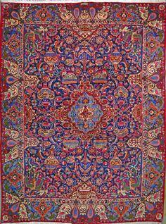 "Buy Kashmar Persian Rug 9' 10"" x 13' 3"", Authentic Kashmar Handmade Rug"