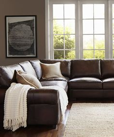 Leather L Shaped Sectional More Part 79