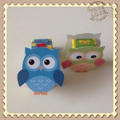 Owl Birthday Parties, Birthday Treats, Party Treats, Diy Birthday, Diy For Kids, Crafts For Kids, Cute Snacks, Bird Party, Treat Holder