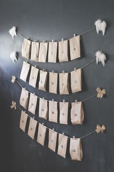 1. luukku - DIY joulukalenteri / DIY Advent Calendar — Lenemade