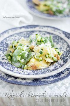 BABS (R) EVOLUTION: Ravioli mit Walnüssen Zucchini und Ricotta [grün und classic]
