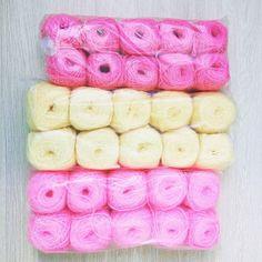 Yarn for a new project - a donuts pillow Пряжа для новой задумки-пончиков подушек)  #amigurumi #crochet #amigurumicrochet #love #crochetaddict #crochets #amigurumiaddict #croche #crocheted #crochetamigurumi #crocheting #handmade #weamiguru #cute #knitting #amigurumis #вяжутнетолькобабушки #амигуруми #вязаниемоехобби #милота #игрушкиручнаяработа #crocheamigurumi #etsy #ярмаркамастеров #yarn #newproject by artfromsib