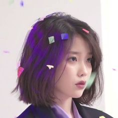 I just cut my hair and saw the motivational post about long hair ( here ) I'm scared to regret so I'm uploading this post Iu Short Hair, Asian Short Hair, Taeyeon Short Hair, Short Hair Korean Style, Shot Hair Styles, Long Hair Styles, Cut My Hair, Hair Cuts, Hair Inspo
