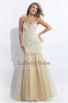 Vendite calde 2014 Bella Prom Dresses Mermaid / Tromba Sweetheart floor-lunghezza Tutti i colori e formati
