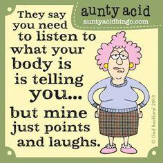 ~ Aunty Acid