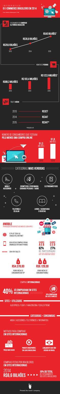 Infográfico - Ecommerce no Brasil 2015