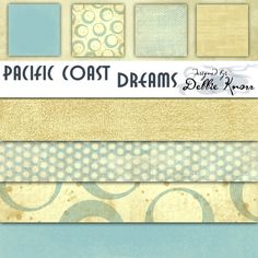 E-Paper Kit - Pacific Coast Dreams 1 at Scrapbook.com $1.59