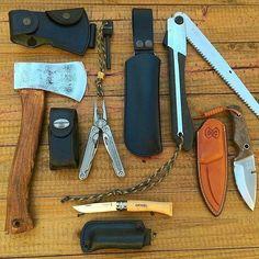 bushcraft tools/blades #bushcraftkit