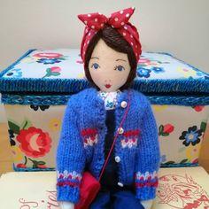 Land Girls, Little Darlings, Lovely Things, Elf On The Shelf, Attic, Art Dolls, Vintage Inspired, Christmas Ornaments, Holiday Decor