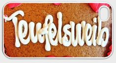 "iPhone-Hülle ""Teufelsweib"" von Art-MG auf DaWanda.com Sugar, Cookies, Etsy, Desserts, Food, Iphone Case Covers, Crack Crackers, Tailgate Desserts, Deserts"